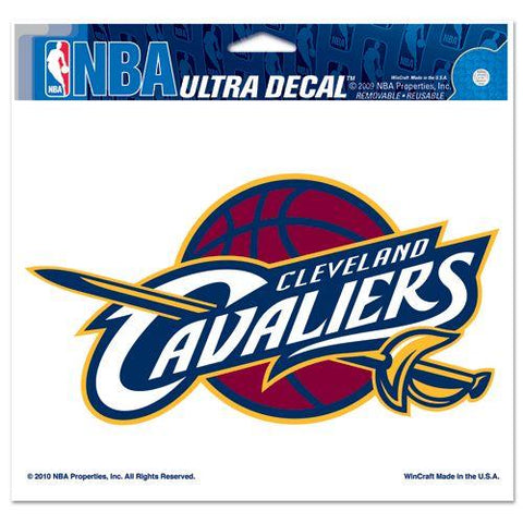 Cleveland Cavaliers Decal 5x6 Ultra Color
