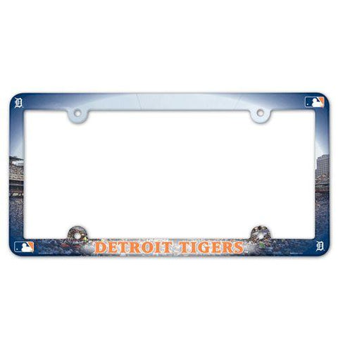 Detroit Tigers License Plate Frame - Full Color