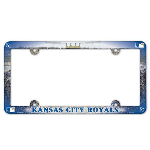 Kansas City Royals License Plate Frame - Full Color