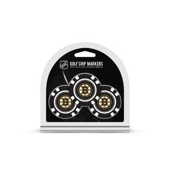 Boston Bruins Golf Chip with Marker 3 Pack