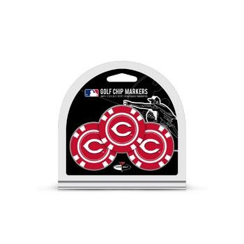 Cincinnati Reds Golf Chip with Marker 3 Pack