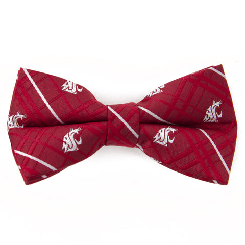 Washington State Cougars Oxford Style Bow Tie
