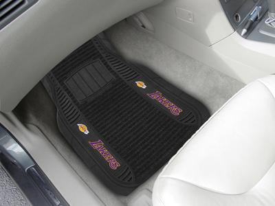 Los Angeles Lakers Car Mats - Deluxe Set
