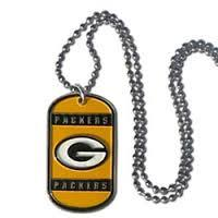 Green Bay Packers Necklace Tag Style