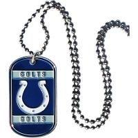 Indianapolis Colts Necklace Tag Style