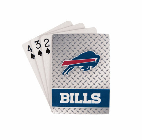 Buffalo Bills Playing Cards - Diamond Plate