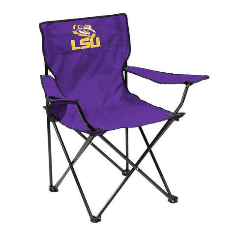 LSU Tigers Quad Chair - Logo Chair
