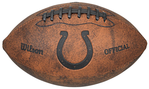 Indianapolis Colts Football - Vintage Throwback - 9 Inches