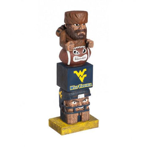 West Virginia Mountaineers Tiki Totem
