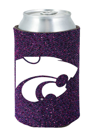 Kansas State Wildcats Kolder Kaddy Can Holder - Glitter