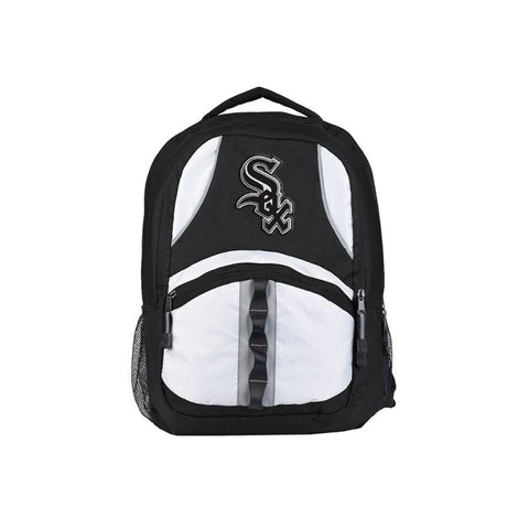 Chicago White Sox Backpack Captain Style Black and Black
