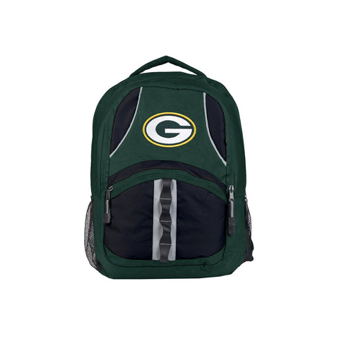 Green Bay Packers Backpack Captain Style Green and Black