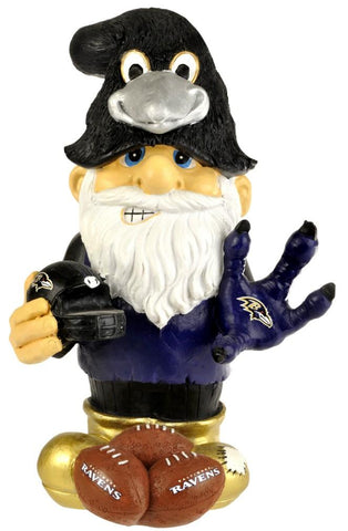 "Baltimore Ravens Garden Gnome - 11"" Thematic - Second String"