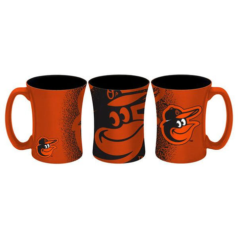 Baltimore Orioles Coffee Mug - 14 oz Mocha