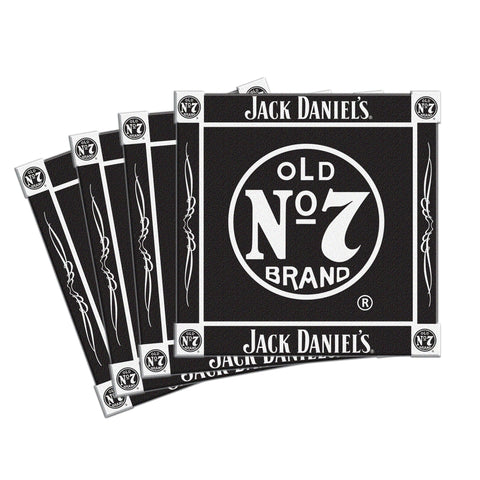 Jack Daniels Coaster Set - Ceramic - 4 Pack