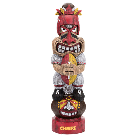 Kansas City Chiefs Tiki Figurine