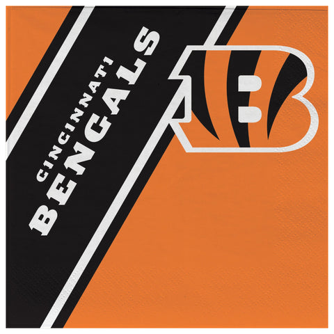 Cincinnati Bengals Disposable Napkins
