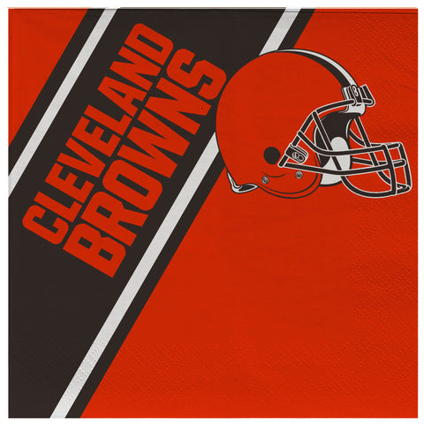 Cleveland Browns Disposable Napkins