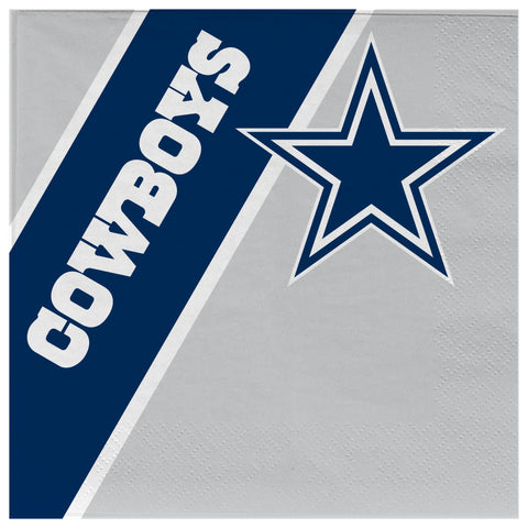 Dallas Cowboys Disposable Napkins