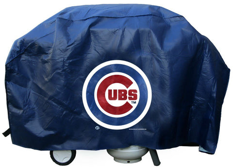 Chicago Cubs Grill Cover Deluxe