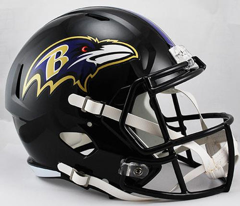 Baltimore Ravens Deluxe Replica Speed Helmet