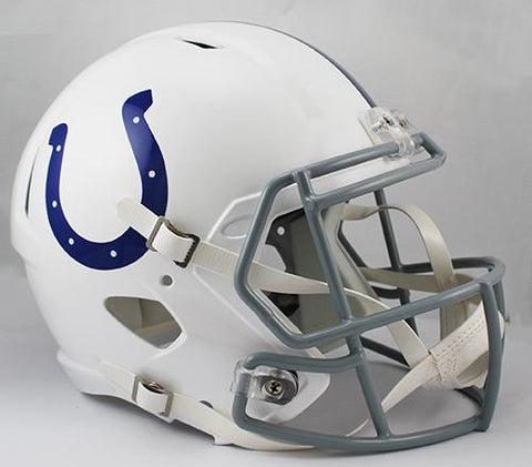 Indianapolis Colts Deluxe Replica Speed Helmet