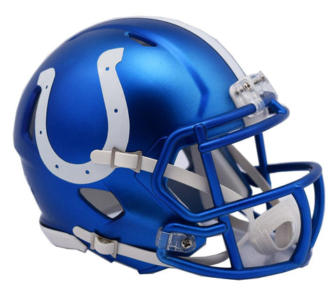 Indianapolis Colts Helmet - Riddell Replica Full Size - Blaze Alternate