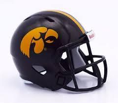 Iowa Hawkeyes Helmet Riddell Pocket Pro Speed Style