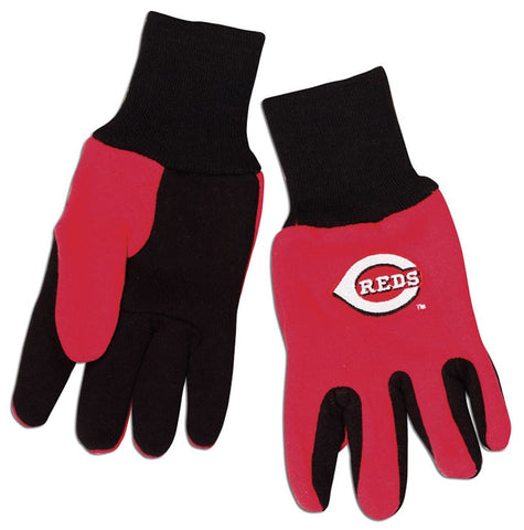 Cincinnati Reds Two Tone Gloves - Youth Size