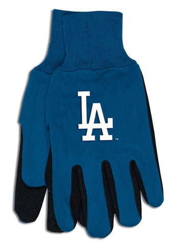 Los Angeles Dodgers Two Tone Gloves - Youth Size