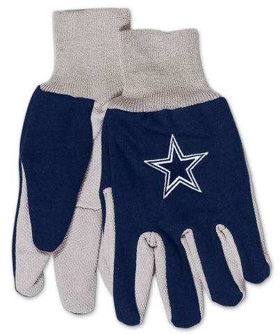 Dallas Cowboys Two Tone Youth Size Gloves