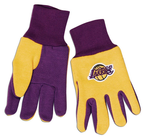 Los Angeles Lakers Two Tone Gloves - Youth