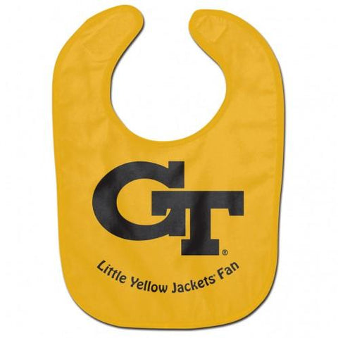 Georgia Tech Yellow Jackets Baby Bib - All Pro Little Fan