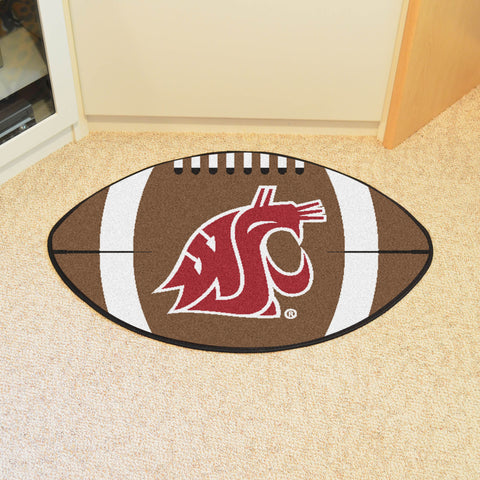 "Washington State Football Rug 20.5""x32.5"""