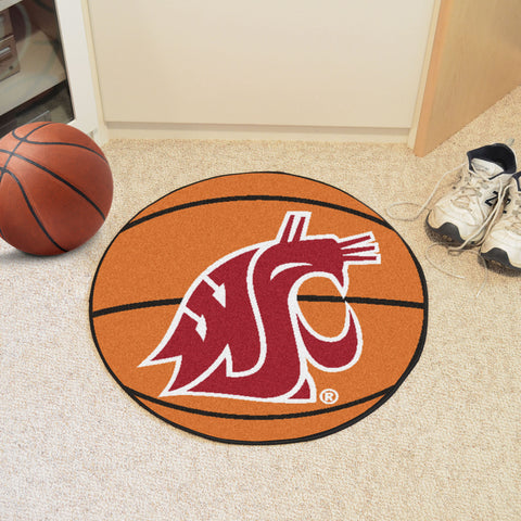 "Washington State Basketball Mat 27"" diameter"