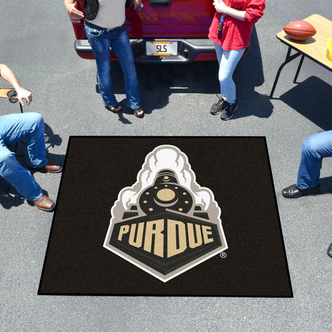 Purdue 'Train' Tailgater Rug 5'x6'