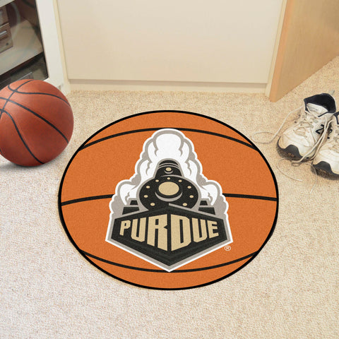 "Purdue 'Train' Basketball Mat 27"" diameter"