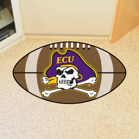 "East Carolina Football Rug 20.5""x32.5"""