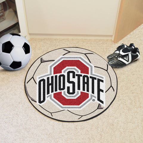 "Ohio State Soccer Ball 27"" diameter"