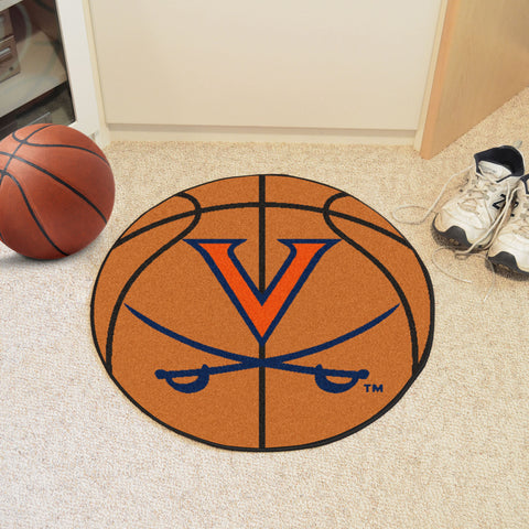 "Virginia Basketball Mat 27"" diameter"