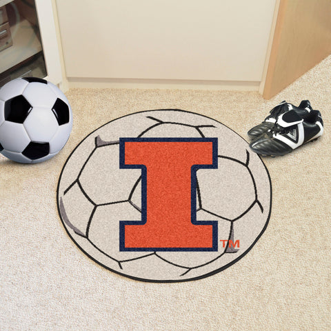 "Illinois Soccer Ball 27"" diameter"