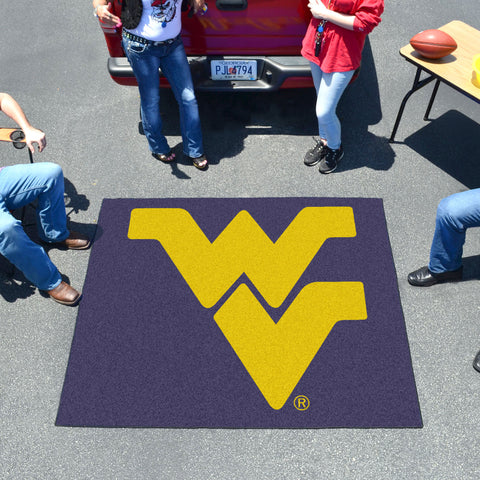 West Virginia Tailgater Rug 5'x6'