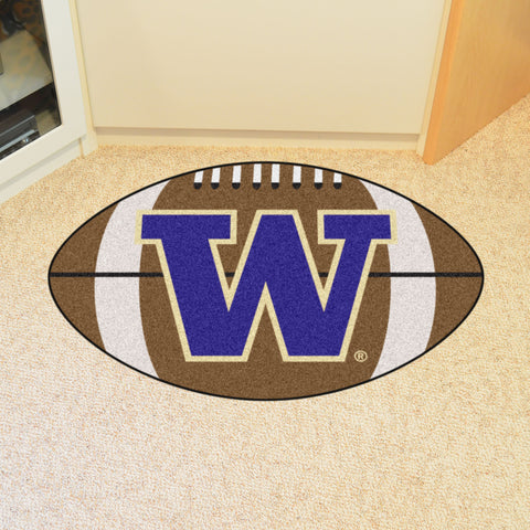 "Washington Football Rug 20.5""x32.5"""