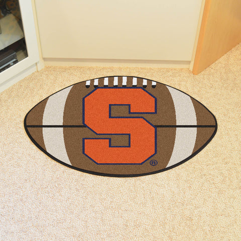 "Syracuse Football Rug 20.5""x32.5"""