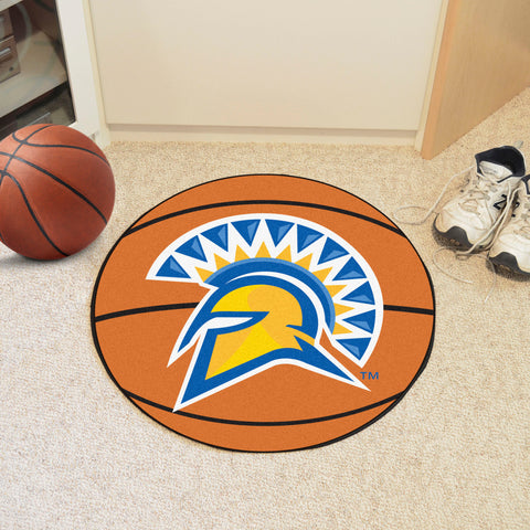"San Jose State Basketball Mat 27"" diameter"