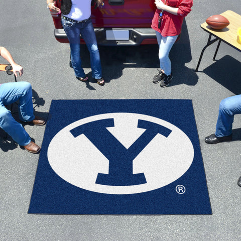 BYU Tailgater Rug 5'x6'