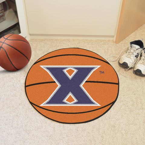 "Xavier Basketball Mat 27"" diameter"