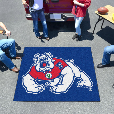 Fresno State Tailgater Rug 5'x6'