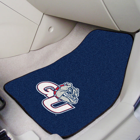 "Gonzaga 2-pc Carpeted Car Mats 17""x27"""