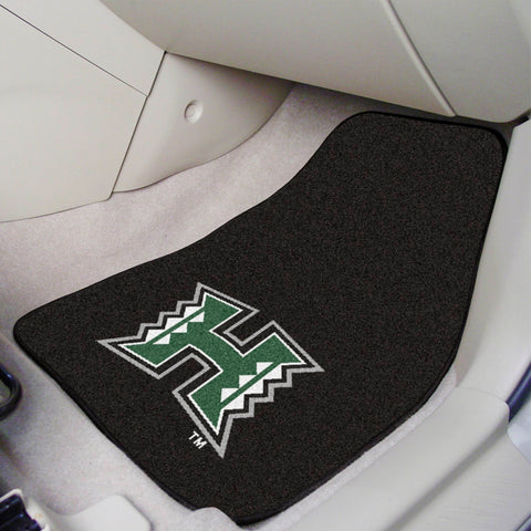 "Hawaii 2-pc Carpeted Car Mats 17""x27"""